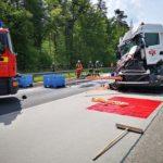 Schwerer Unfall auf der BAB5