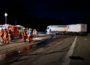 LKW Unfall blockiert die BAB5 in Richtung Süden stundenlang