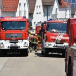 Küchenbrand macht Haus unbewohnbar