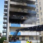 Mehrere Personen bei Brand gerettet