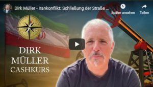 Dirk Müller - Irankonflikt - Schließung der Straße von Hormus käme USA zugute!