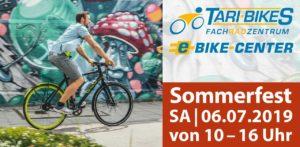 Sommerfest Tari Bikes, Sommeraktion, Juli 2019