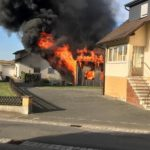 Schnelles eingreifen der Feuerwehr verhindert größeres