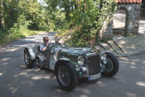 Der Alvis Special aus dem Jahr 1935 ist eines von rund 15 Vorkriegsfahrzeugen, die an der 25. ADAC Heidelberg Historic teilnehmen.  Foto: ADAC Nordbaden
