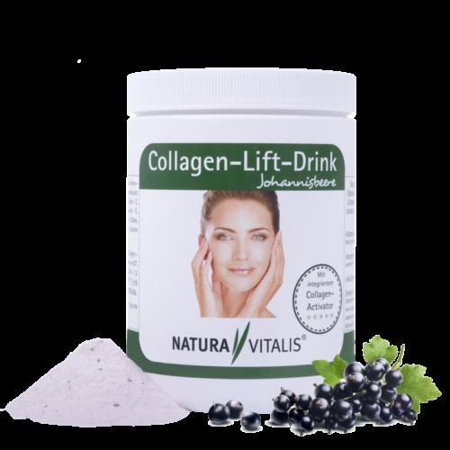 Collagen-Lift-Drink mit L-Lysin - Johannisbeere, Naturavitalis, Oliver Doell