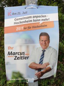Oberbürgermeister Hockenheim Marcus Zeitler