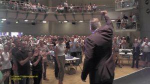 TVüberregional, Oliver Döll war mit TV Kamera vor Ort.Ereignisse und Impressionen der Oberbürgermeisterwahl in Hockenheim.Marcus Zeitler wird neuer ...