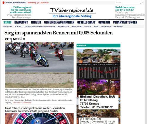 Sieg im spannendsten Rennen mit 0,005 Sekunden verpasst - TVueberregional