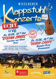 Wieslocher Klappstuhlkonzerte 2019- 01.08.2019
