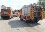 Fahrzeugbrand auf der A 6 – Mercedes ausgebrannt – Fahrer unverletzt – Verkehrssperrungen