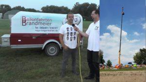 Brandmeier Ballonfahrten, Regenbogenballon, 25 Jahre, Veranstaltung am St Leoner See am 31-08-19