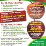 Freudensprung größtes Hoffest der Region am 12. und 13.10.2019 mit 10-jährigen Jubiläum
