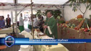 Alexander Hafner, Pfarrer und Leiter der Seelsorgeeinheit Dielheim bei Obstbau Freudensprung Dielheim