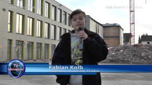 Fabian Kolb, Moderator-Praktikant bei TVüberregional