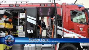 Moderator, Feuerwehr Tairnbach, Fabian Kolb