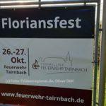 Floriansfest Feuerwehr Tairnbach am 26.10.19 und 27.10.19