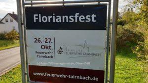Floriansfest Feuerwehr Tairnbach, Ortseingang Tairnbach, Kraichgau, TVüberregional, Onlinezeitung, Mühlhausen - Tairnbach