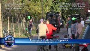 Tierpark Balzfeld Express, Rundfahrten mit der Eisenbahn, hier bei Obstbau Freudensprung Dielheim