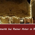 Adventsmarkt in Reilingen bei Rainer Astor, Fabian Kolb berichtet