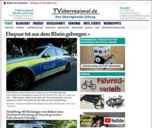 Ehepaar tot aus dem Rhein geborgen