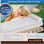 Aktionstage, 150 € Gutschein, 24- 27.01.2020, Relax2000, Wohn- & Schlafberatung Markus Kapp