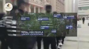Coronavirus, China, Militär sperrt Städte ab, täglich fallen Menschen um, Angst und Hungersnot steigt, realer Horror