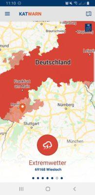 """Das Orkantief """"Sabine"""" fegt ab Sonntag über ganz Deutschland"""