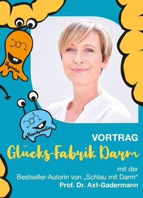 In Ihrem Vortrag informiert Prof. Dr. Michaela Axt-Gadermann über den Einfluss unseres Mikrobioms auf Körper und Geist.