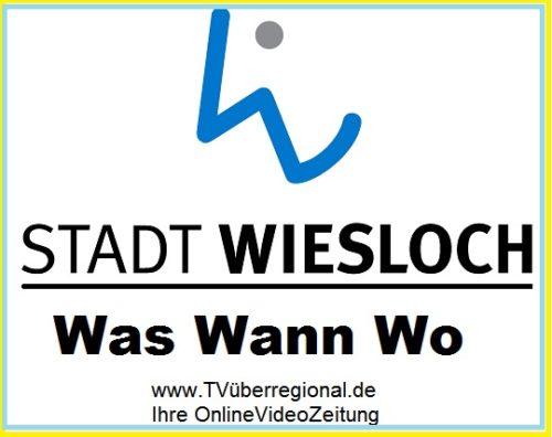 Amtliche Bekanntmachung der öffentlichen Sitzung des Gemeinderates Wiesloch