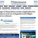 Alle Bürger in Hockenheim werden aufgefordert, ihre Wohnung nur noch aus zwingenden und triftigen Gründen zu verlassen