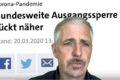 Dirk Müller – Grotesk! Ausgangssperre – Politik selbst für mangelnde Vorsicht verantwortlich