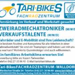 Tari-Bikes FACHRADZENTRUM, WALLDORF: Verstärkung im Verkauf und Werkstatt gesucht!