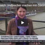 Frankreich: Verbrecher machen mit Corona-Krise Kasse (Video)