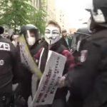 Festnahmen während Demo gegen COVID-Maßnahmen