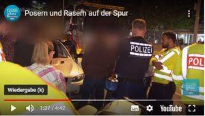 """TV Beitrag: Erster """"Poser""""-Einsatz 2020; zwei Fahrzeuge aus dem Verkehr gezogen"""