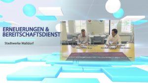Videobeitrag, Gemeinde Bad Schönborn und Stadtwerke Walldorf, Zusammenarbeit in der Trinkwasserversorgung, TVüberregional, Oliver Döll