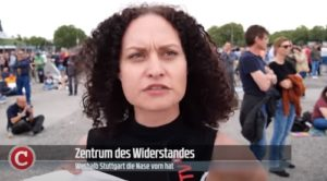 Corona-Widerstand, Stuttgart steht auf - Die Woche COMPACT