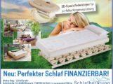 Relax2000, ab sofort Finanzierung möglich, perfekter Schlaf finanzierbar