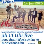 Sunday School – die musikalische Sonntagsschule mit Me and The Heat und dem HMV – Online aus dem Wasserturm in Hockenheim