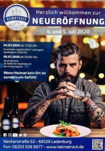 Heimatrock, Restaurant und Bar, Neckarstraße 62, 68426 Ladenburg