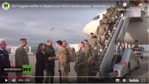USA verlegen Hunderte Soldaten für Defender 2020 Großmanöver nach Deutschland