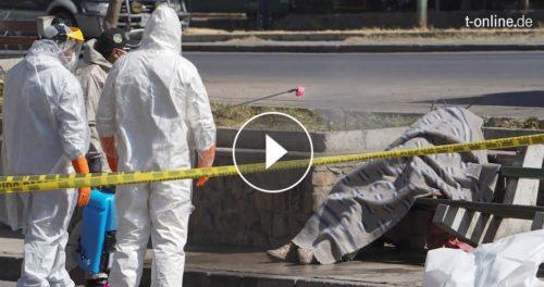 Bestatter überlastet, Corona-Tote bleiben auf Straße liegen