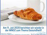 Relax2000 zum Frühstück in den Weinheimer Nachrichten / Odenwälder Zeitung