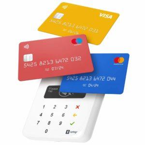 SumUp, mobile Kartenbezahlung erhalten, Debitkarten Zahlung, Kreditkarten Zahlung,