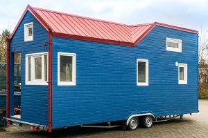 Rolling Tiny House Prototyp zu verkaufen