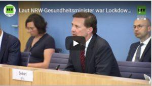 Laut NRW-Gesundheitsminister war Lockdown im März ein Fehler