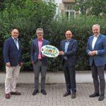 """""""Österreichische Delegation zu Besuch in Schwetzinge"""