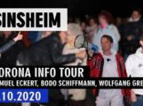 Corona-Info-Tour – Zwischenstopp Sinsheim (Videobeitrag und Interview)