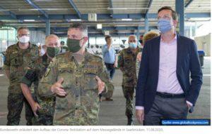 Militär an der Corona-Front - Auch Stuttgart erbittet Hilfe der Bundeswehr