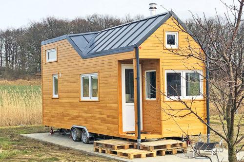 Permanent wohnen auf eigenem Grund im Tiny House